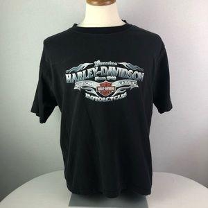 Men Harley Davidson black t-shirt Sz M